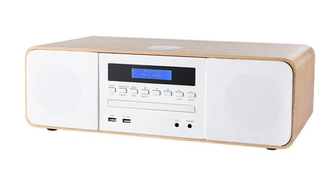 CD/MP3/USB/DAB+ micro system with wireless charger MIC201IDABBT THOMSON – Image  #1