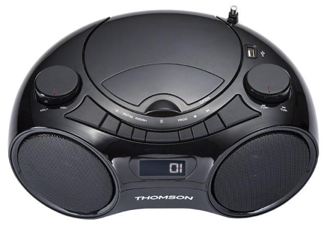 CD/MP3/USB/RADIO portable player RCD210UBT THOMSON – Image
