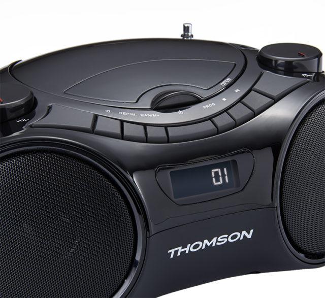 CD/MP3/USB/RADIO portable player RCD210UBT THOMSON – Image  #2tutu