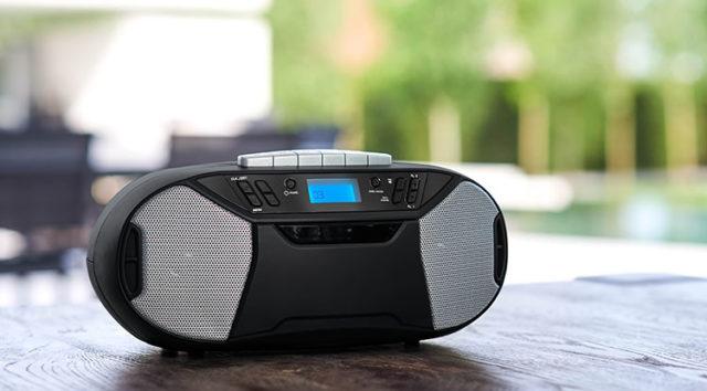 Portable radio tape/CD RK250UCD THOMSON – Image