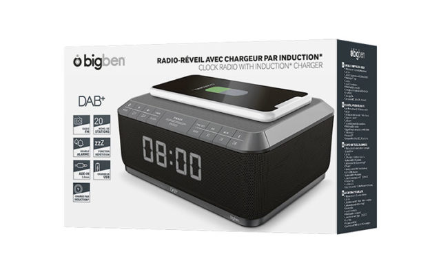 Clock radio with wireless charger/DAB+ RR140IGDAB BIGBEN – Image  #2tutu#4tutu#5