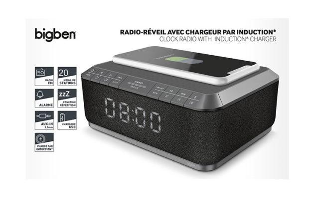 Clock radio with wireless charger RR140IG BIGBEN – Image  #2tutu#4tutu