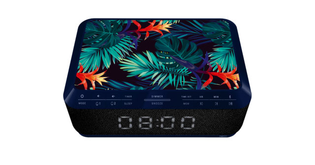 Clock radio with wireless charger RR140IJUNGLE BIGBEN – Image  #1