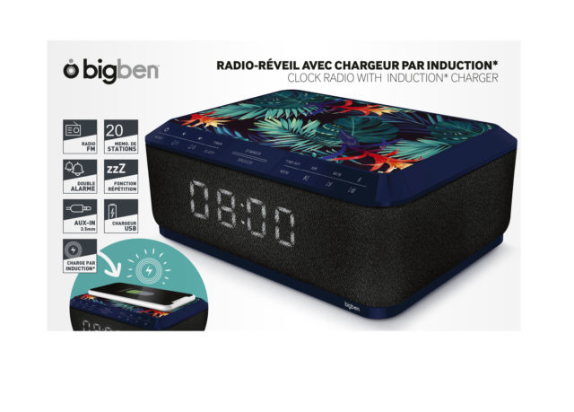 Clock radio with wireless charger RR140IJUNGLE BIGBEN – Image  #2tutu#4tutu