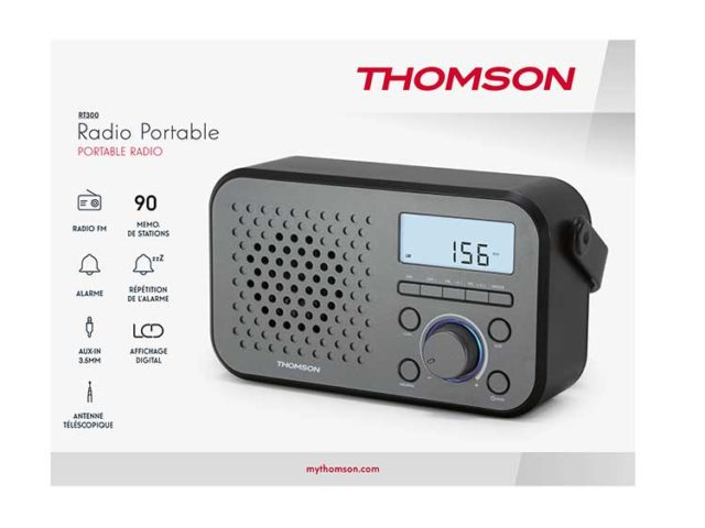 Portable radio RT300 THOMSON – Image  #2tutu