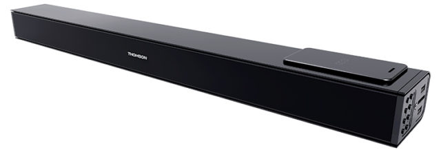 Soundbar with wireless induction* charging for mobiles SB160IBT THOMSON – Image  #1