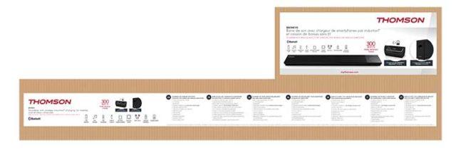 Sound bar with wireless subwoofer SB270IBTWS THOMSON – Image  #2tutu#3